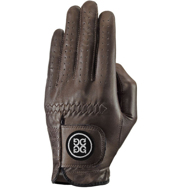 G-Fore Espresso Carbretta Leather Glove WOMENS