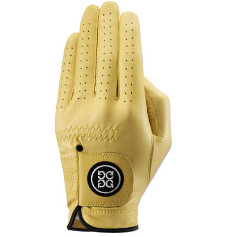 G-Fore Lemon Carbretta Leather Glove MENS