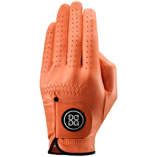 G-Fore Tangerine Carbretta Leather Glove MENS
