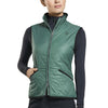 G/FORE WOMENS SWEATER LINED QUILTED VEST- PINE  - SZ SMALL