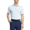 G/FORE MENS PENCIL STRIPE POLO - CAPRI