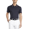 G/FORE MENS TUX  POLO - TWILIGHT