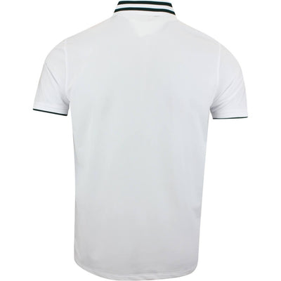 G/FORE MENS SKULLS AND T'S EMBROIDERED POLO - SNOW