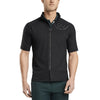 G/FORE MENS SHORT SLEEVE MID LAYER - ONYX  - SZ MEDIUM