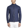 G/FORE MENS SKULL & T'S EMBOSSED FULL ZIP MID LAYER - TWILIGHT