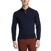 G/FORE MENS CANT BREAK 80 1/4 ZIP CASHMERE SWEATER - TWILIGHT - SZ MEDIUM