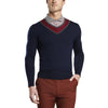 G/FORE MENS DOUBLE V SWEATER - TWILIGHT - SZ MEDIUM