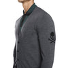 G/FORE MENS CARDI G - HEATHER GREY - SZ MEDIUM