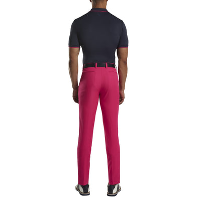 G/FORE MENS ZIP POLO - TWILIGHT  - SZ M
