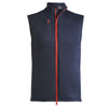 G/FORE MENS G4 FULL ZIP TECH VEST - TWILIGHT - SZ M