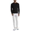 G/FORE MENS CREWNECK SWEATER - ONYX - SZ M