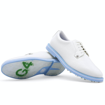 G/FORE MEN'S LTD EDITION GALLIVANTER GOLF SHOE - SNOW / BAJA