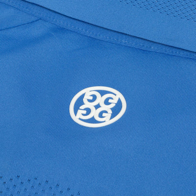 G/FORE MENS KILLER MAPPED POLO - ADRIATIC