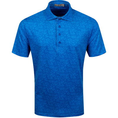 G/FORE MENS VINES POLO - SAPPHIRE