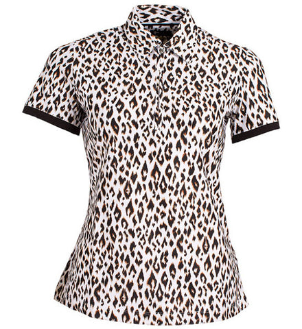 Greg Norman Ladies Animal Print Polos
