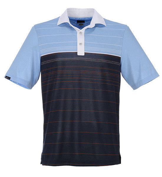 Greg Norman Cliffside Contrast Polos