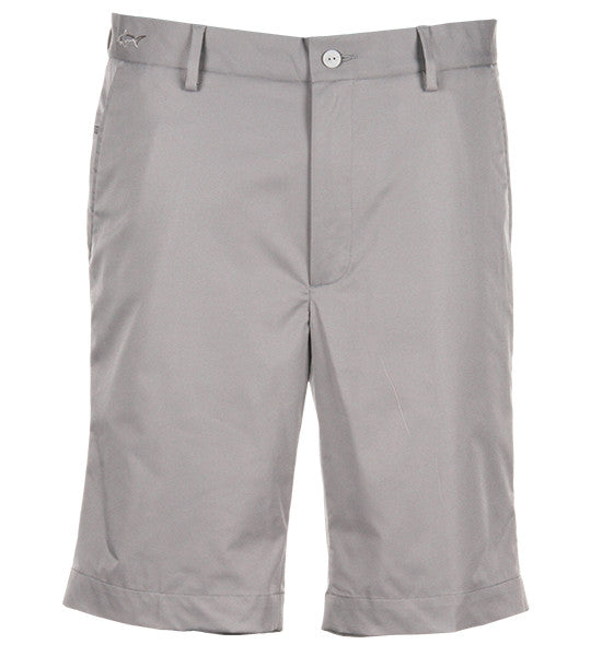 Greg Norman Hybrid Flat Front Shorts - Steel