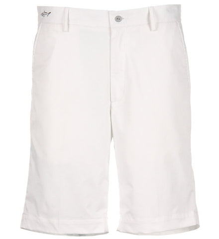 Greg Norman Hybrid Flat Front Shorts - White