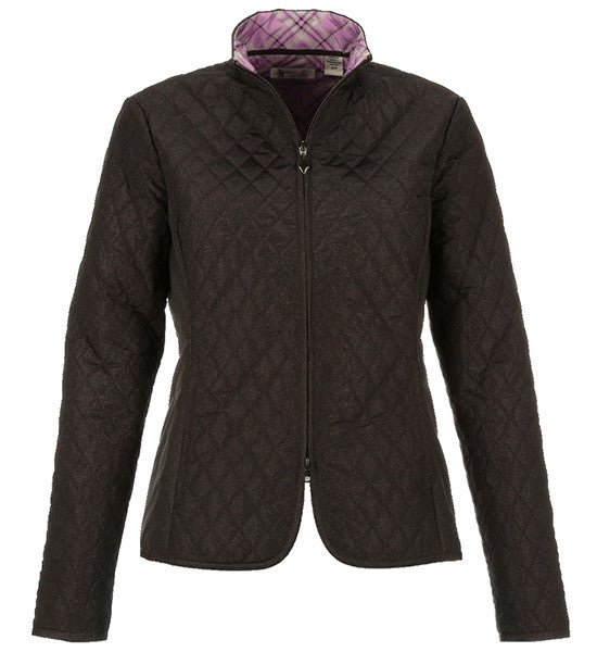 Greg Norman Ladies Quilted Full Zip Jackets