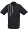 Greg Norman Screen Print Polos - Black