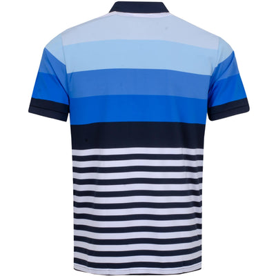 G/FORE MENS GRADIENT POLO - SNOW/TWILIGHT