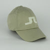 J Lindeberg Mens - Bridge Solid Fitted Cap Twill Cap - Lt Sand
