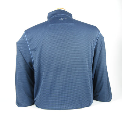 Greg Norman - Men's 1/4 zip Mock Pullover - NAVY