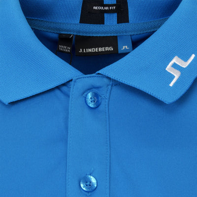 J.LINDEBERG MENS LTD EDITION JAX TX Coolmax Polo - TRUE BLUE