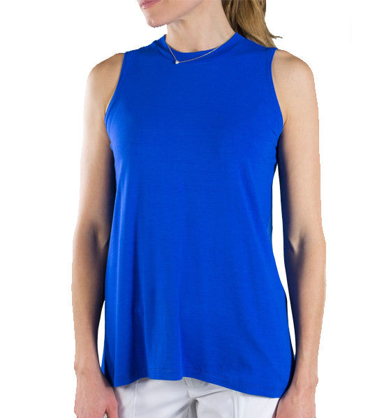 JoFit Time Zone Tunic - Cobalt