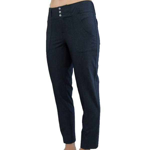 JoFit Belted Crop Golf Pant - Heather Charcoal