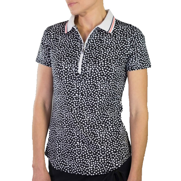 Jofit Ribbed Collar Polo - Ink Spot