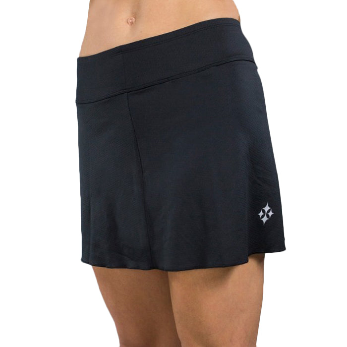Jofit Jacquard Swing Skorts (Short) - Black