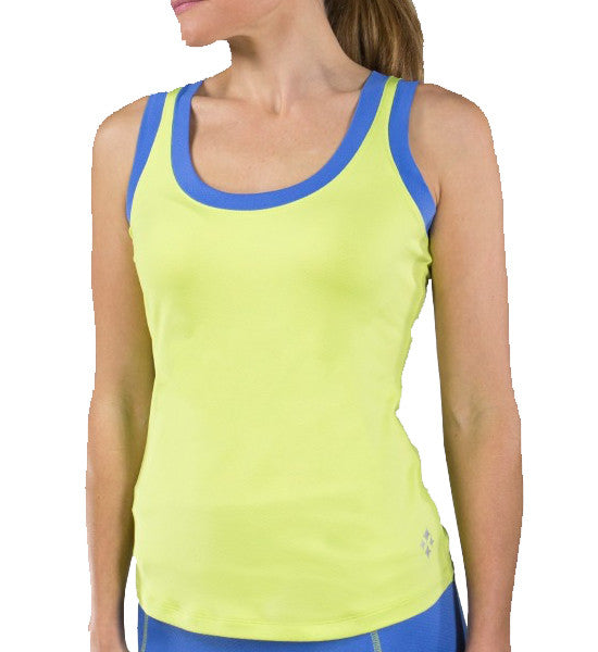 JoFit Modified Chaser Tank - Apple Green