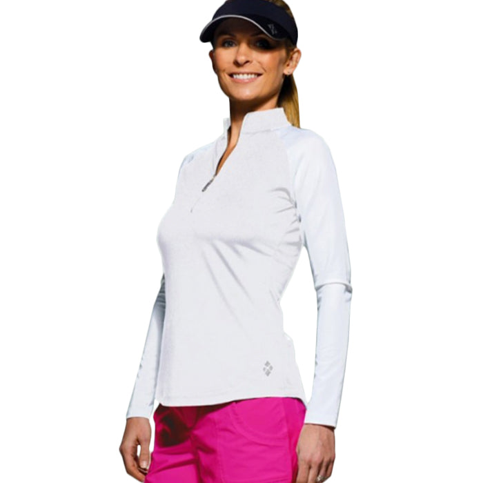 Jofit Long Sleeve Mock - White