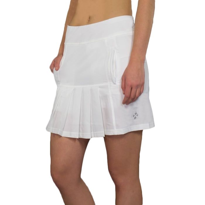 JoFit Dash Skort (Long) - White