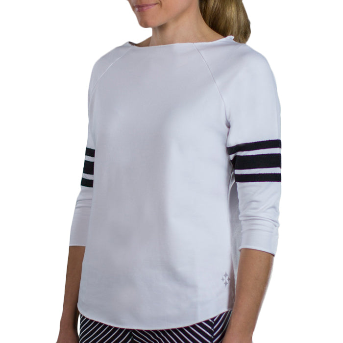 JoFit Terry Pullovers - White