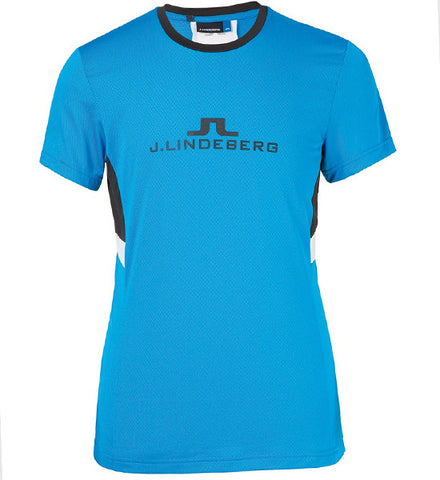 J Lindeberg - FS Tee Light Jersey - Electric Blue