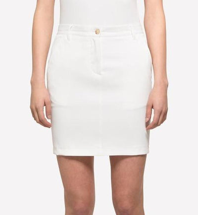 J.Lindeberg Women's Allie Micro Stretch Skort - White