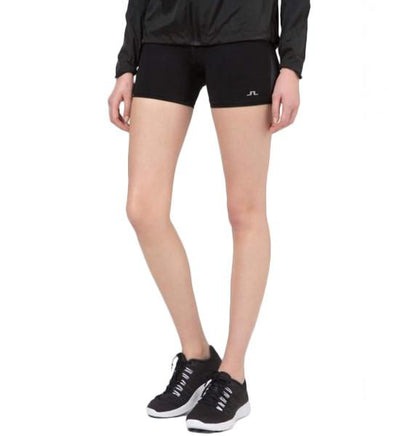 J.Lindeberg Women's Gaby Compression Poly Shorts - Black