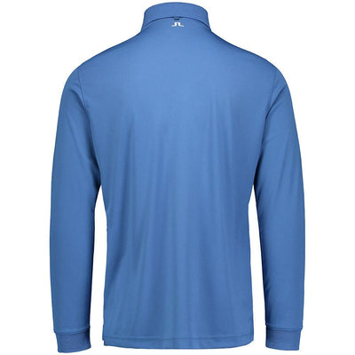 J.LINDEBERG Mens - TOUR TECH LONG SLEEVE TX JERSEY Big Bridge - WORK BLUE