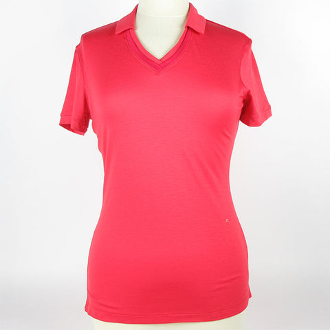 J.Lindeberg Women's Harper Slim Soft Tencel Polo