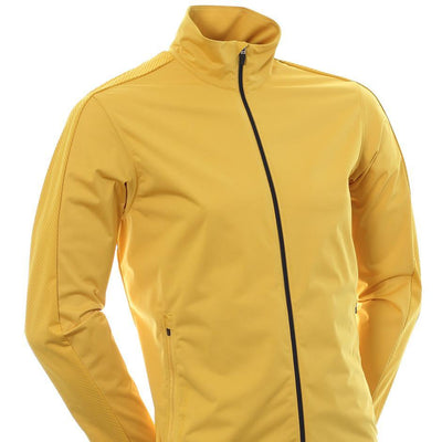 Galvin Green Mens LAURENT Interface-1 Golf Wind Proof Jacket - GOLD