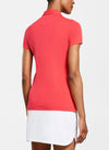 Peter Millar Women's Perfect Fit Performance Short-Sleeve Polo - POPPY - sz Small