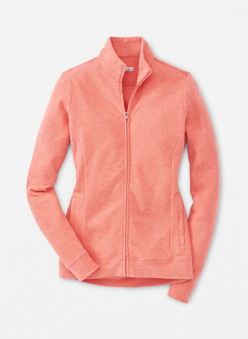 Millar Women's Tri-Blend Mélange Fleece - POPPY - sz Small