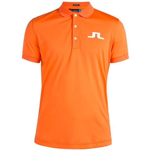 J.L BIG BRIDGE REG TX JERSEY POLO SHIRT - Racing Orange