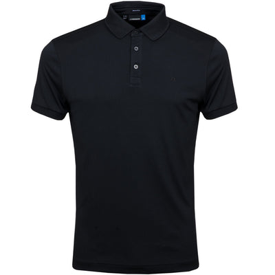 J.LINDEBERG Mens Ltd Edition Meddie Regular TX Jersey - BLACK
