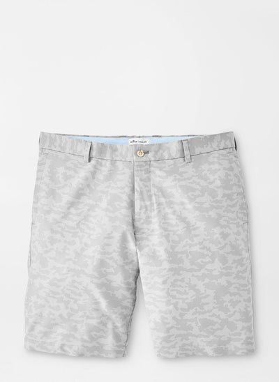 Peter Millar Mens Carrboro Camo Performance Short - GALE GREY
