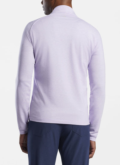 Peter Millar - Mens drirelease® Natural Touch Quarter-Zip - WILD LILAC