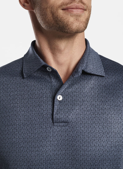 Peter Millar Mens Roland Performance Polo - NAVY