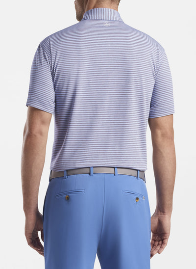 Peter Millar Mens Deskey Performance Polo - RIVERSIDE